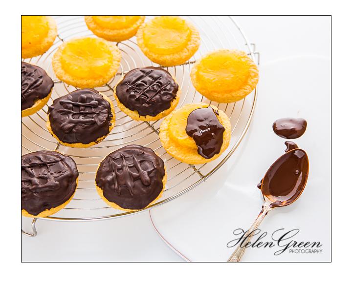 Helen green jaffa cakes chocolate