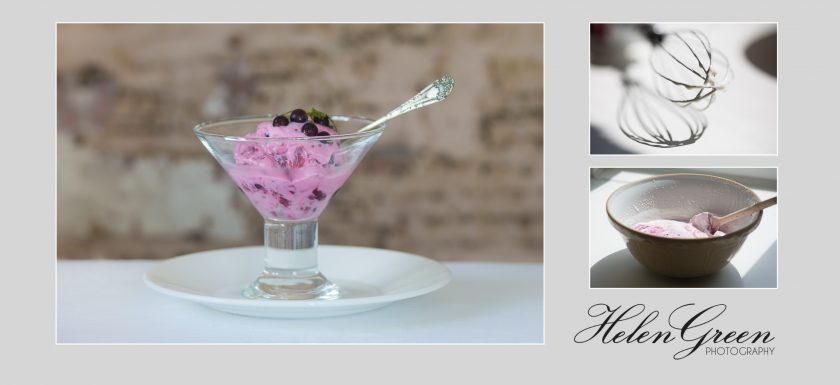 helen green blackcurrant ice-cream