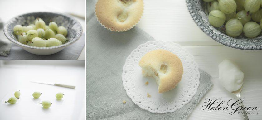 helen green photography gooseberry cakes